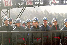 Chinese coal production drops in 2014