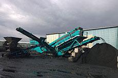 Hayes Fuels uses Powerscreen coal screeners
