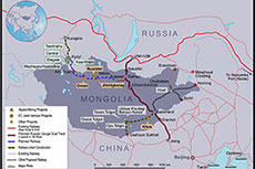 Agreement signed to develop Mongolian railway