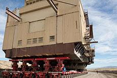Historic journey to Peabody mine