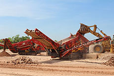 Terex Finlay introduces new mobile heavy duty screener