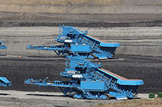 Fully mobile crushing in China