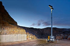 Atlas Copco QLT H50 light tower