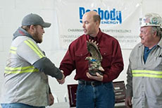 Peabody Energy wins safety award