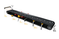 Warning systems increase conveyor belt safety