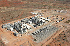 Siemens industrial power plant to power mine