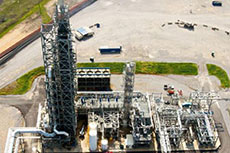 Carbon dioxide capture test completes initial phase