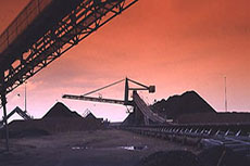 Coal transportation infrastructure in South Africa