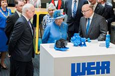 The Queen meets Warman slurry pump
