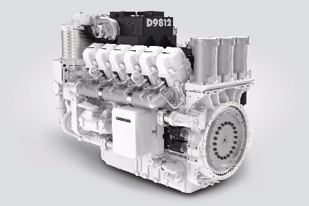 MINExpo 2016: Liebherr shows D98 diesel engine