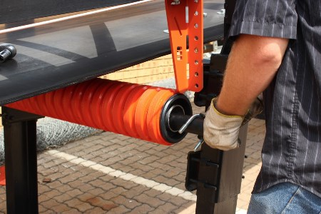 A more effective return belt tracking system from Martin Engineering