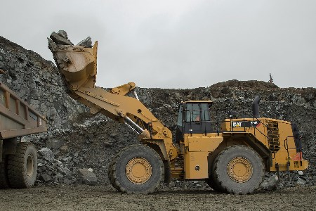 Cat releases first wheel loader with an electric drive system