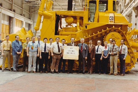 Cat D10 turns 40