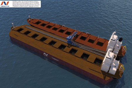 National Ports and thyssenkrupp develop self-unloading shallow draft bulk carrier