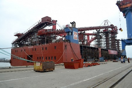 Upgrade completed on Emco-1 transhipment barge