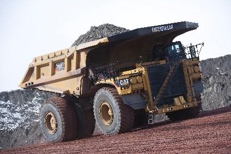 Caterpillar hits mining truck milestone