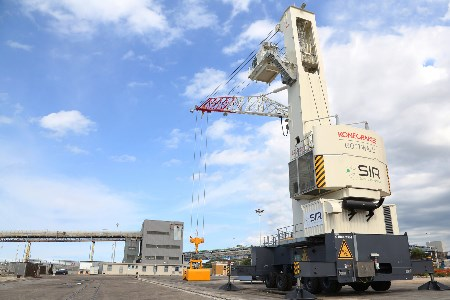 Konecranes launches coal handling activity at Port of Brindisi