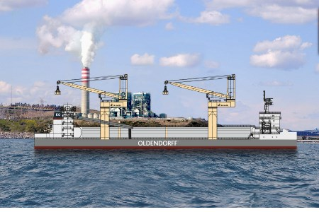 Oldendorff awarded coal transhipment project in Vietnam