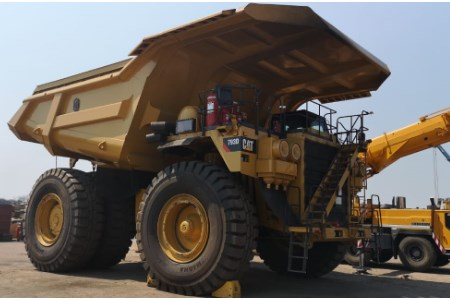 African coal mine selects Magna's GIANTS for rigid dump trucks
