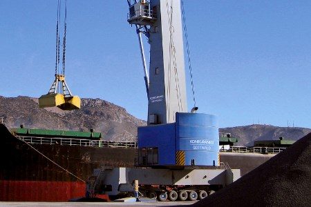 Konecranes wins order for three large mobile harbour cranes