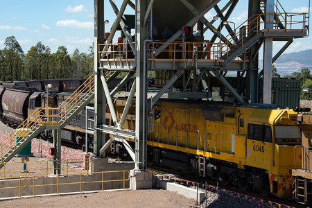 Aurizon delivers first coal to AGL's Antiene facility in NSW