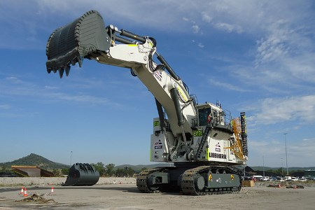 BGC Contracting receives Liebherr R 9800 for NSW coal project