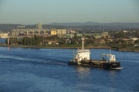 Port of Newcastle celebrates 160 years of continuous dredging