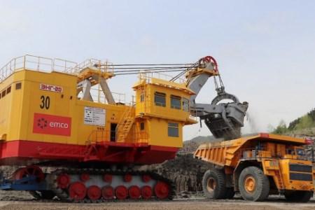 New-generation excavator arrives at Solntsevsky coal mine
