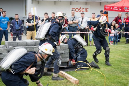 JSW mine rescue teams present skills in friendly competition