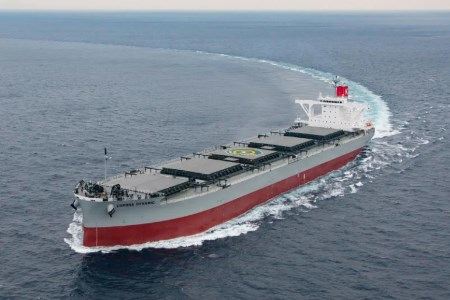 K Line takes delivery of Corona Dynamic
