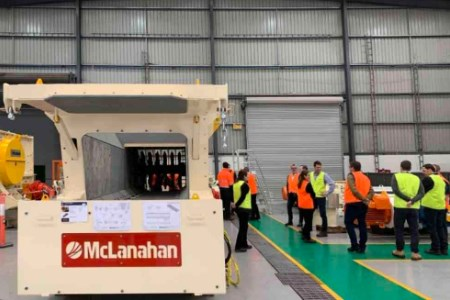 McLanahan hosts customer event to showcase Feeder-Breaker completion