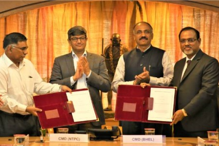 NTPC and BHEL sign MoU for efficient and environmentally-friendly coal fired power plant