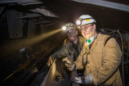 Armenian Ambassador visits JSW's Pniówek mine site