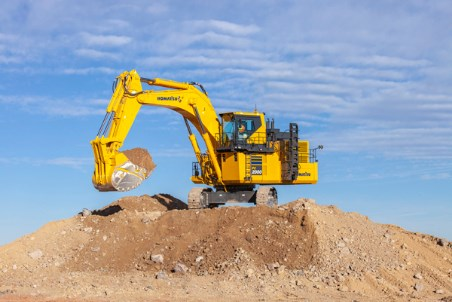 Komatsu introduces hydraulic excavator