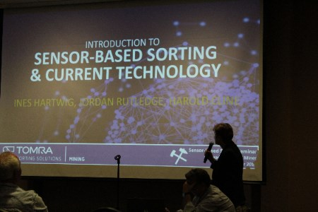 TOMRA holds seminar on sensor-based sorting