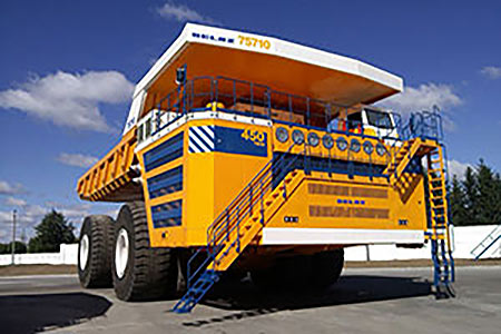 Siemens drive system powers largest truck   World Coal